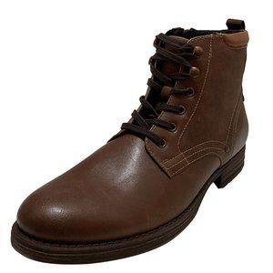 Alfani Mens Bronson Manmade Medium Brown Boots 9 M